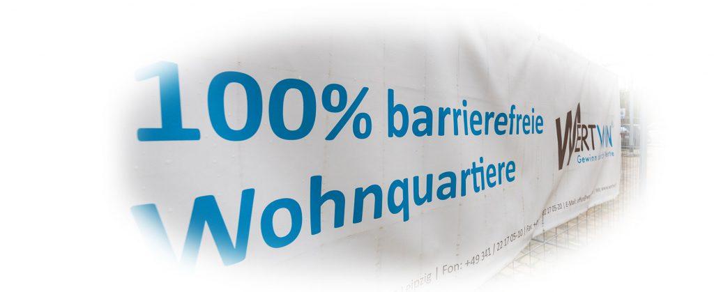 100 Prozent barrierefreie Wohnquartiere